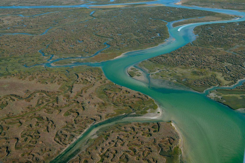 Vista da Ria Formosa