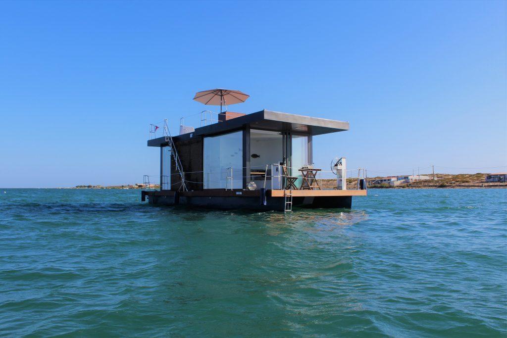 Barco Casa - Alojamento na Ria Formosa, Faro, Algarve, Portugal