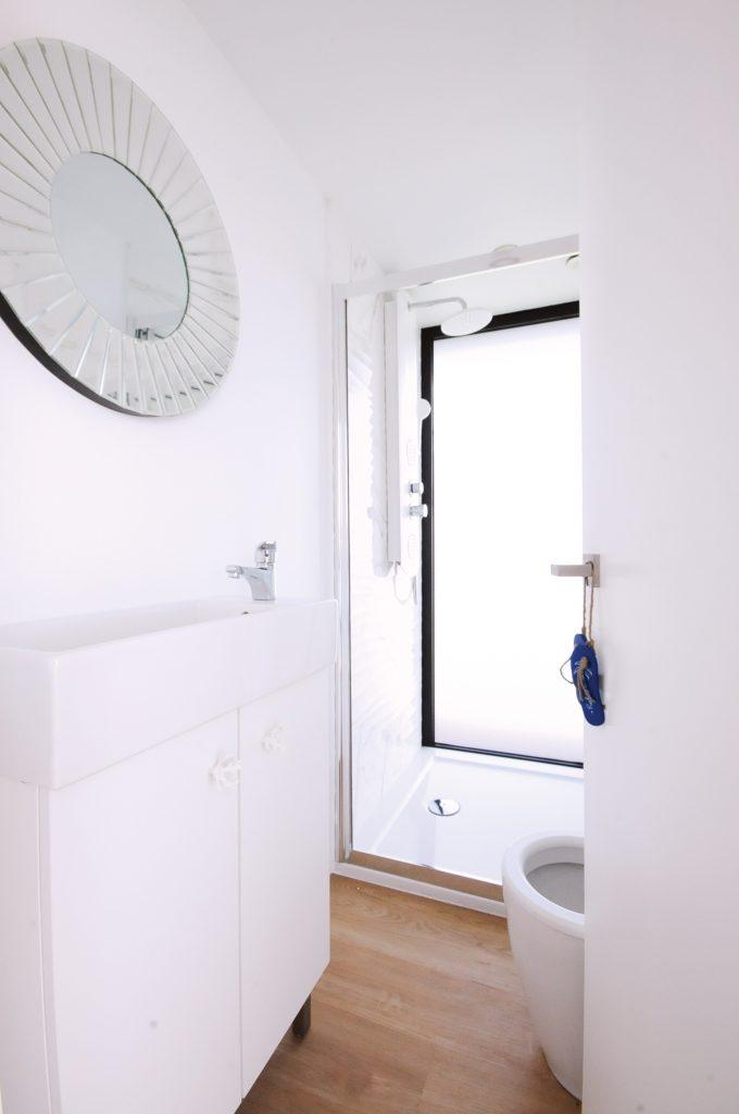 WC - Alojamento barco casa na Ria Formosa, Faro, Algarve, Portugal