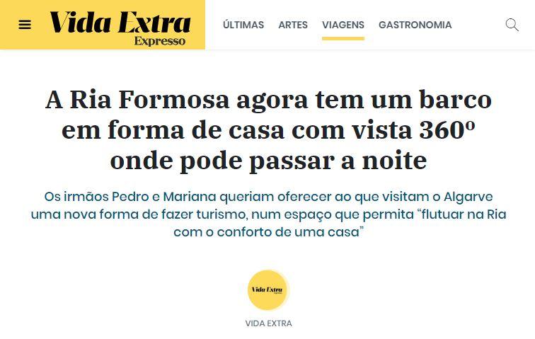 Casas da Ria in Vida Extra, Expresso!